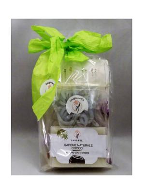 Confezione regalo sapone